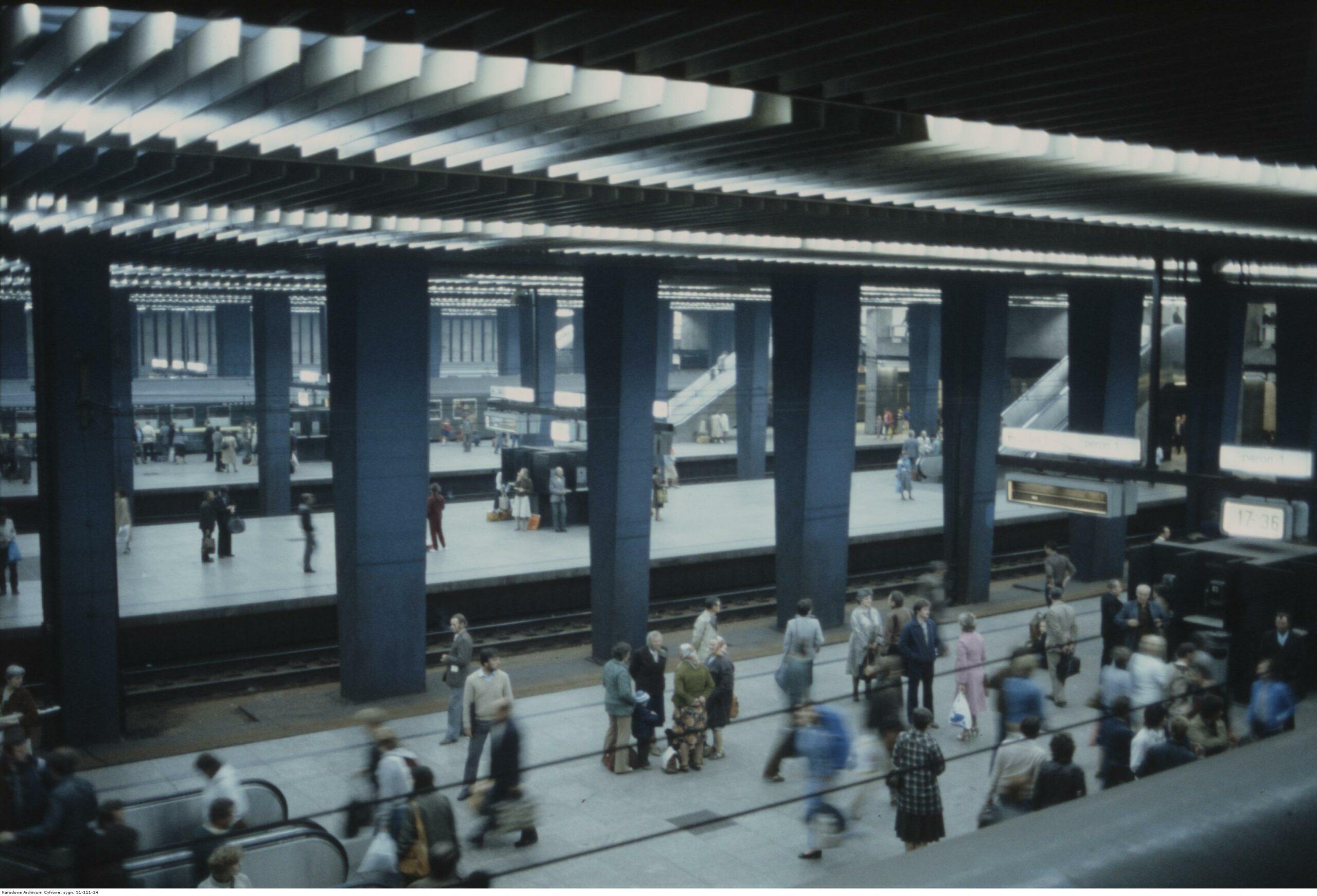 Dworzec Warszawa Centralna