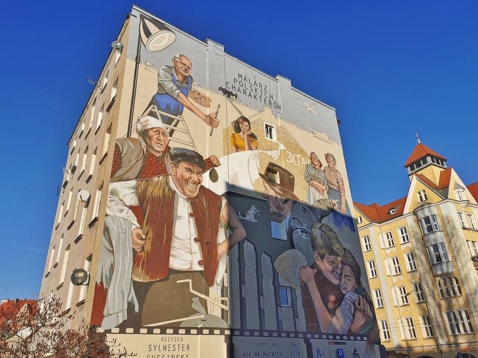 mural Chęcińskiego