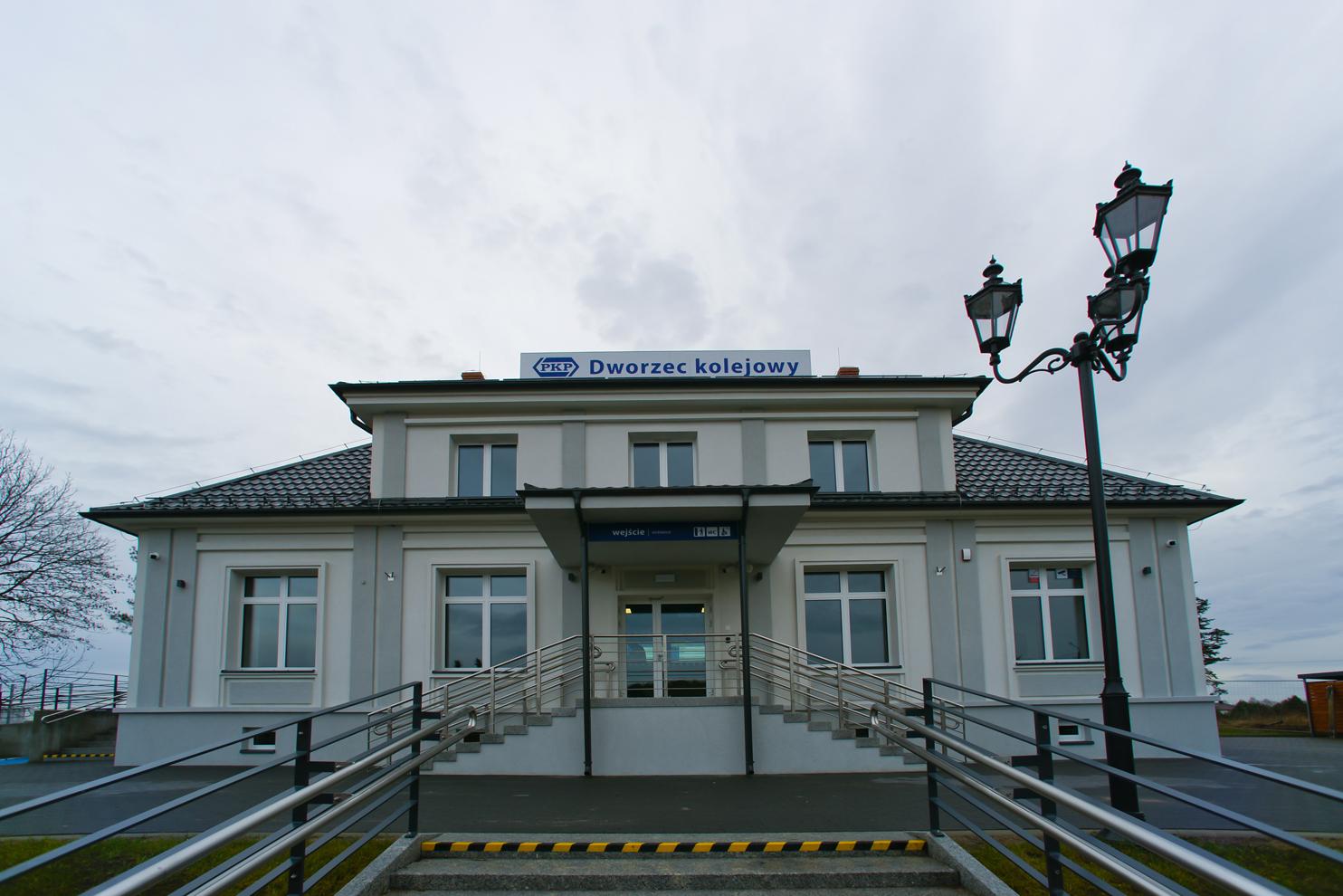dworzec w Siemiatyczach