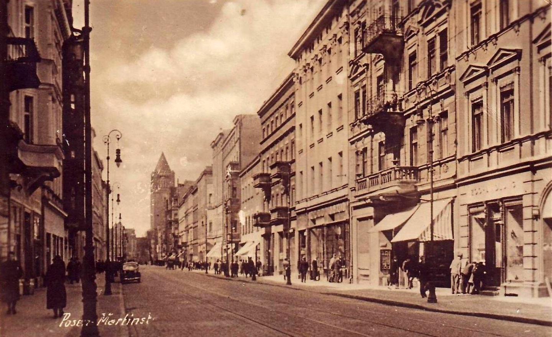 Ulica Święty Marcin w trakcie okupacji