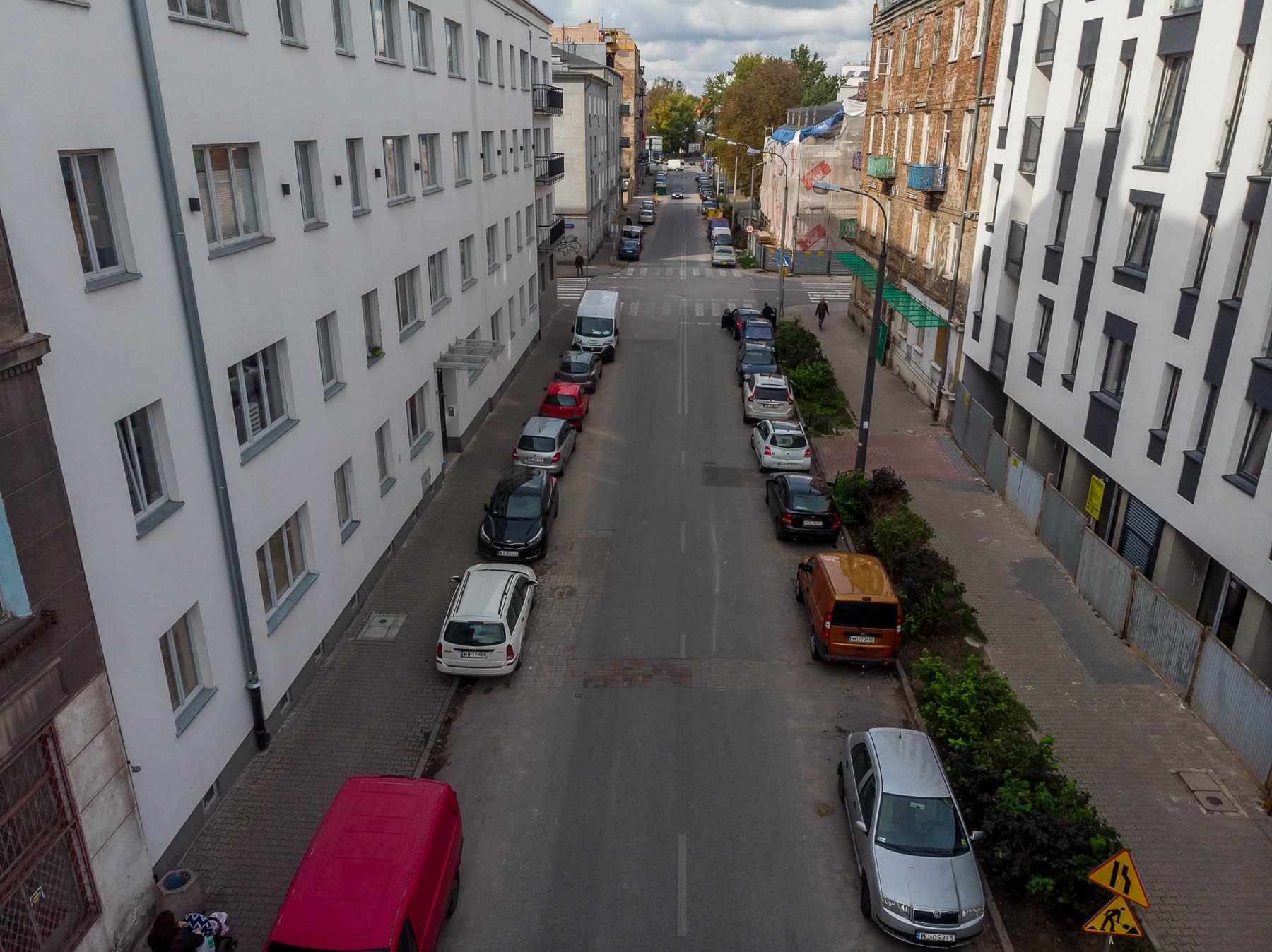 Ulica Środkowa / nowy warszawski woonerf