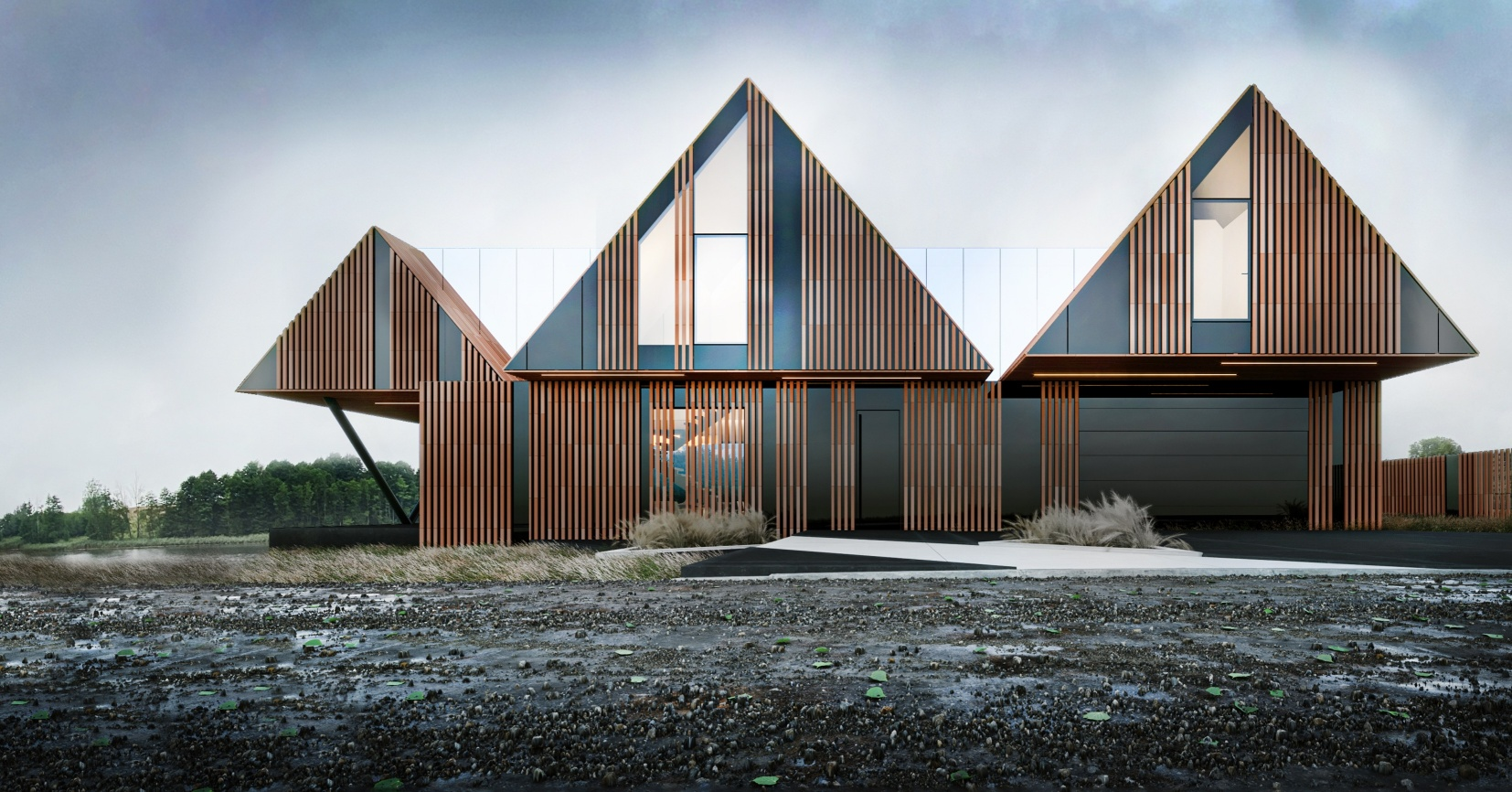 Domek Brda w nowoczesnym stylu. Zaprojektował go Marcin Tomaszewski