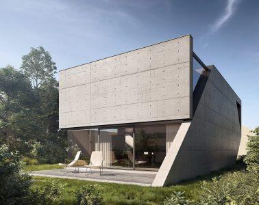 nietypowy jednorodzinny dom