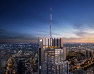 Najwyższy wieżowiec w Unii Europejskiej