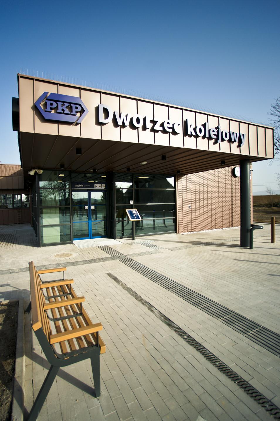 dworzec w Ibramowicach