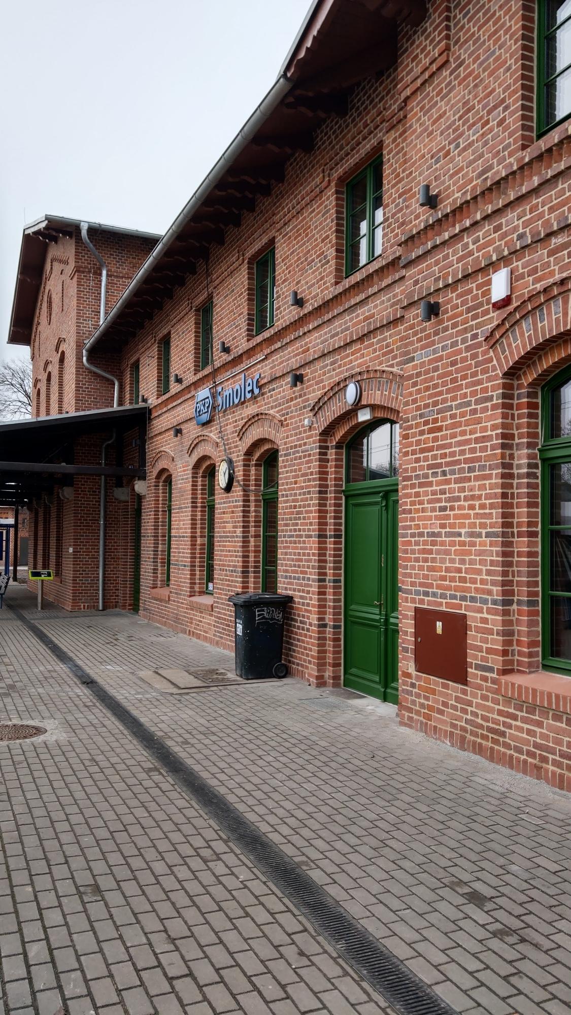 dworzec w Smolcu