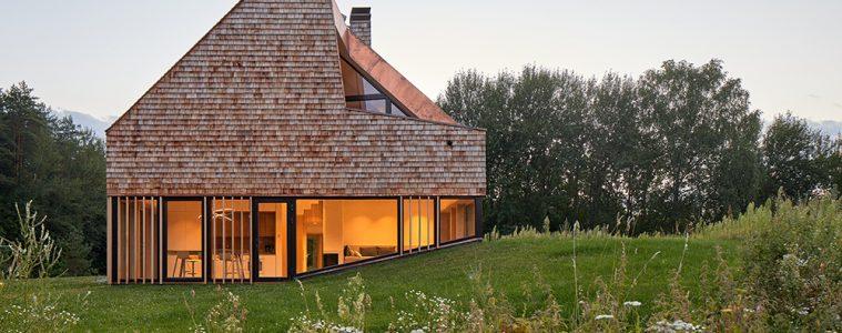 cedrowy dom