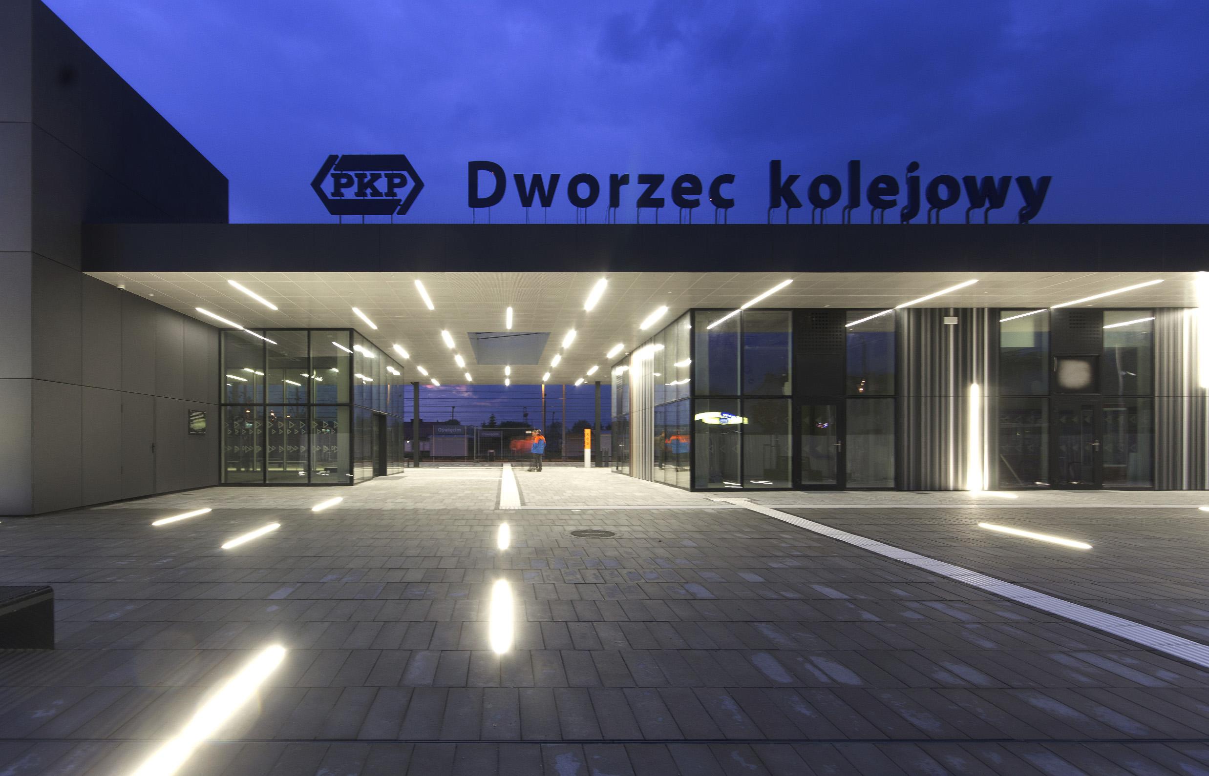 Dworzec w Oświęcimiu
