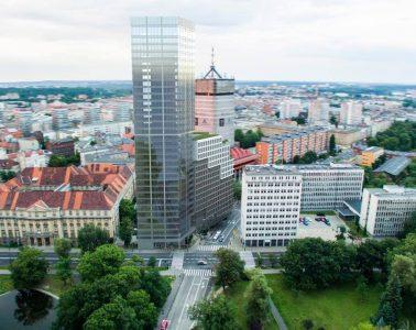 wieżowiec w Poznaniu