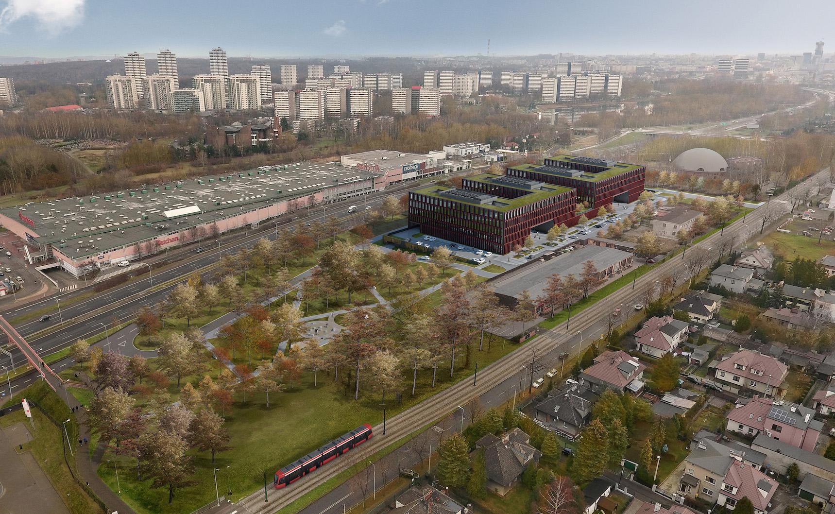 Siedziba prokuratury w Katowicach
