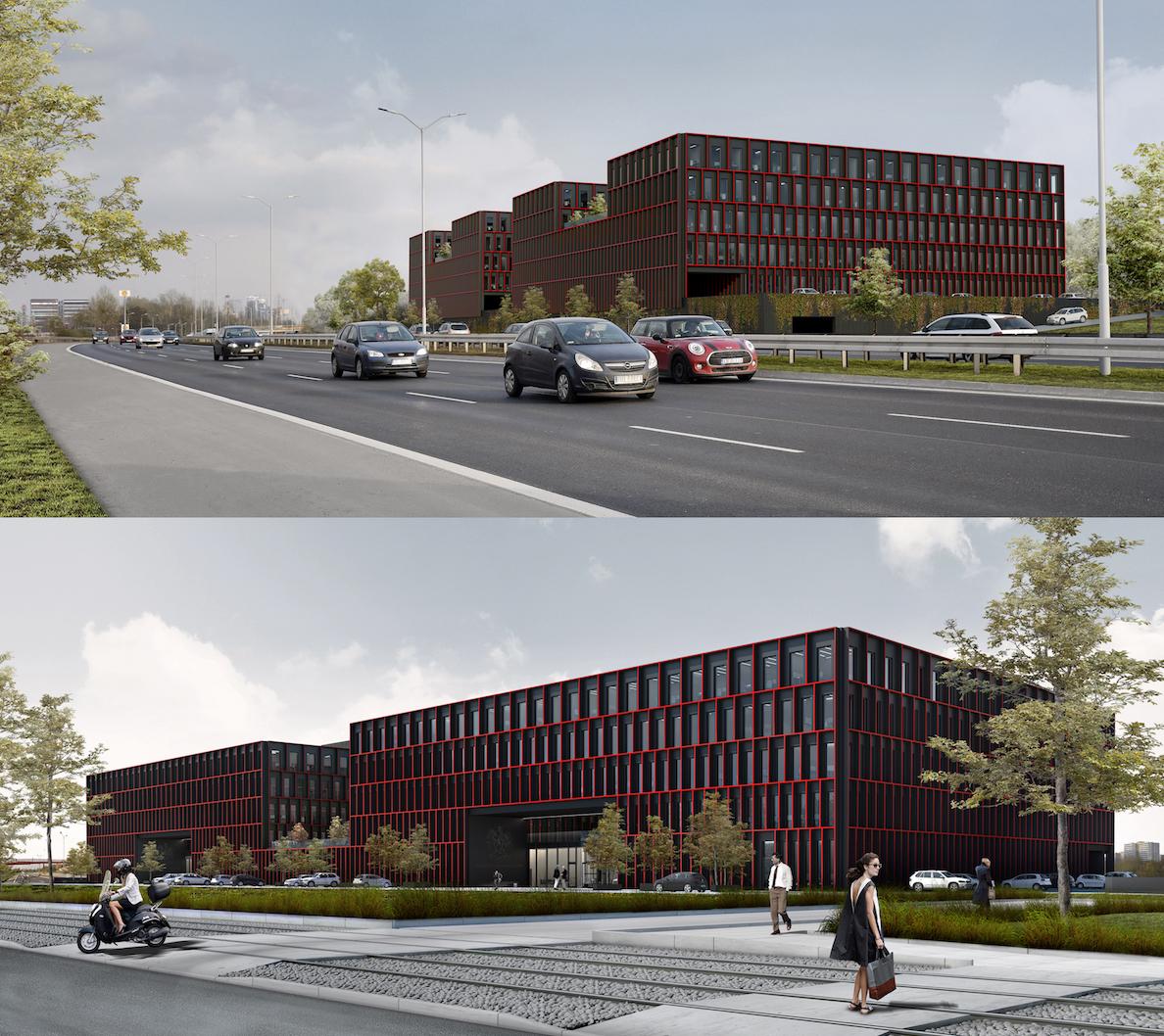 Nowa siedziba prokuratury w Katowicach została zaprojektowana przez architektów z pracowni OSTROWSCY ARCHITEKCI