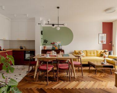 Mieszkanie w stylu vintage