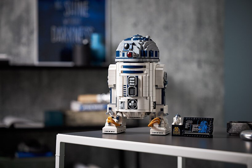 R2-D2 z klocków LEGO