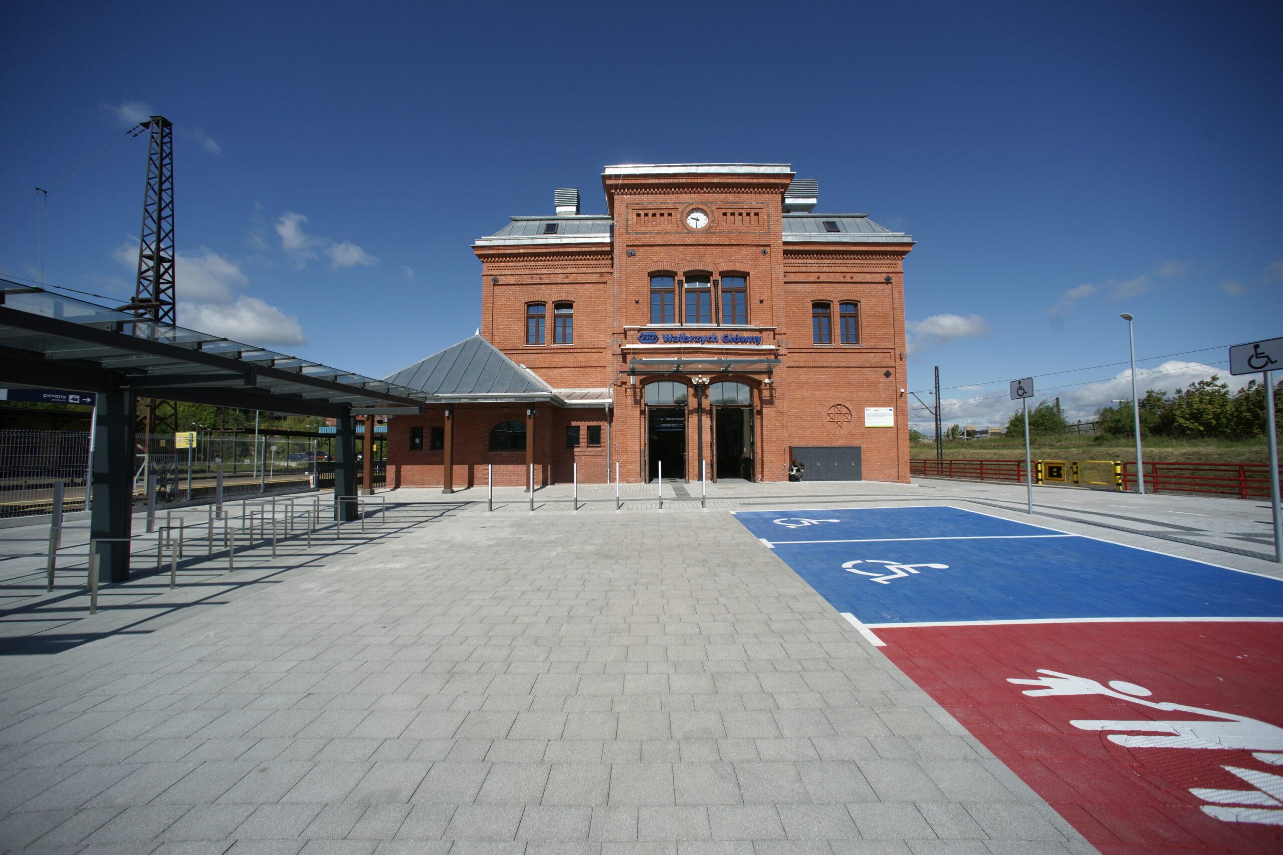 dworzec w Wałbrzychu
