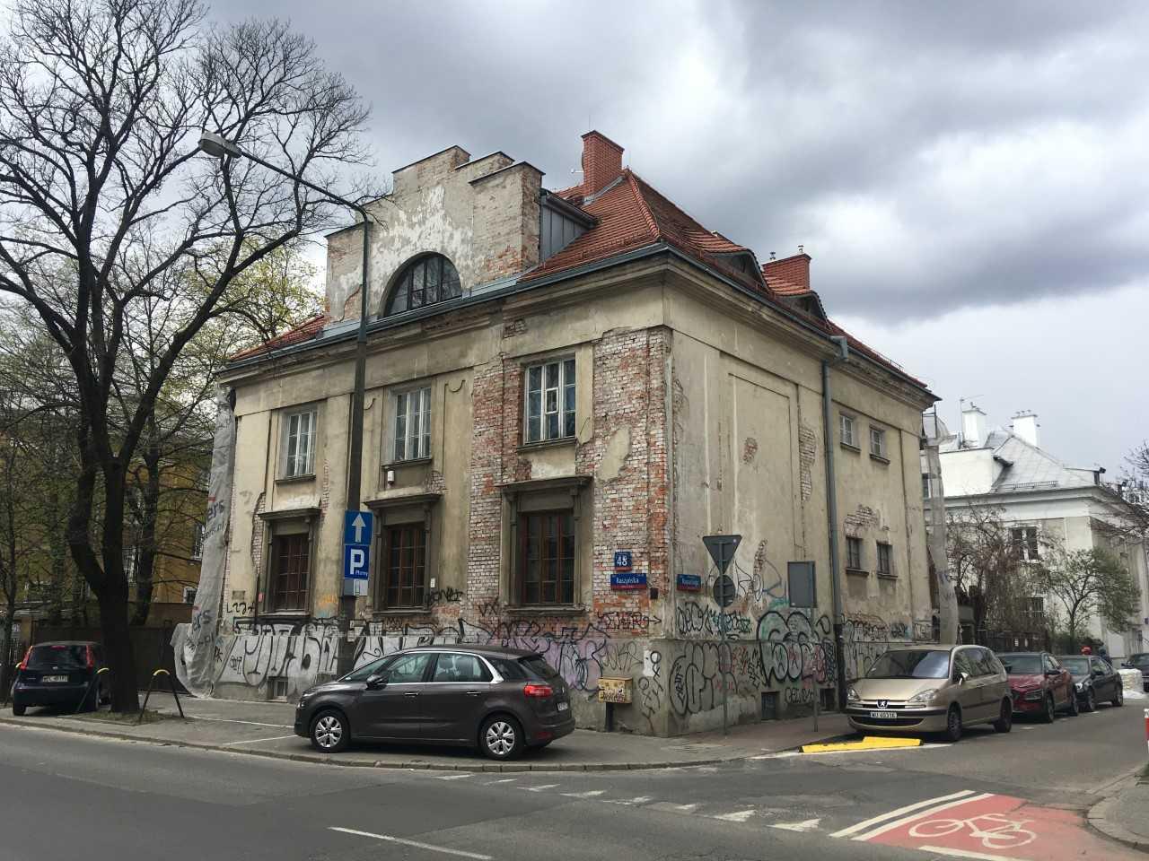 willa w Warszawie