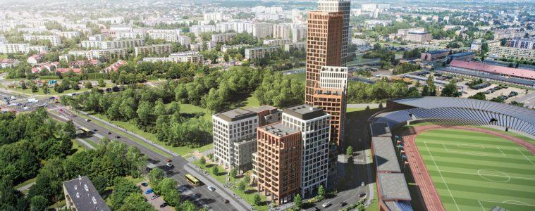 100-metrowy apartamentowiec w Rzeszowie