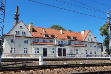 dworzec w Prabutach