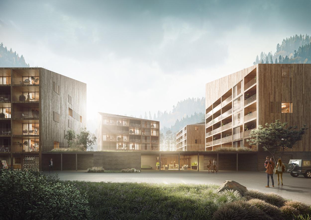 Nowy hotel w Wiśle