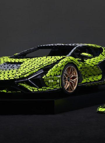 Lamborghini z LEGO