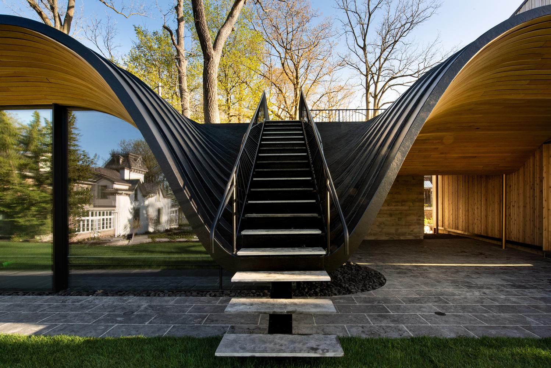 Dom w kształcie fali