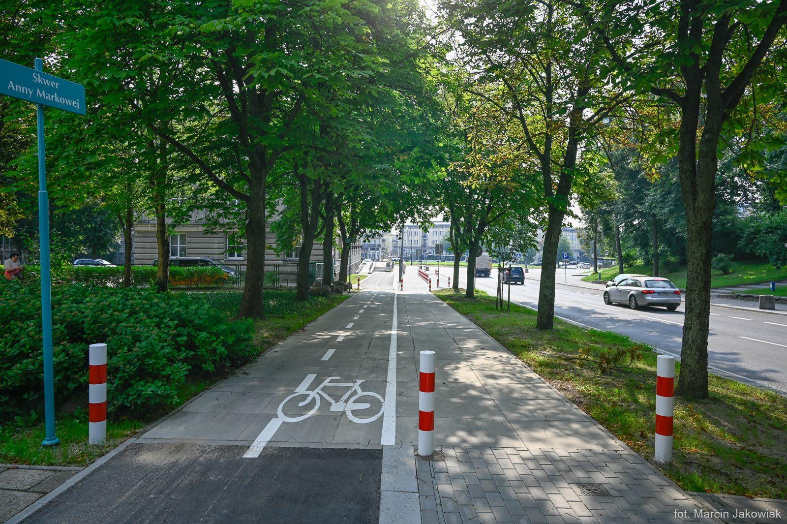 Podwieszana ścieżka rowerowa w Białymstoku