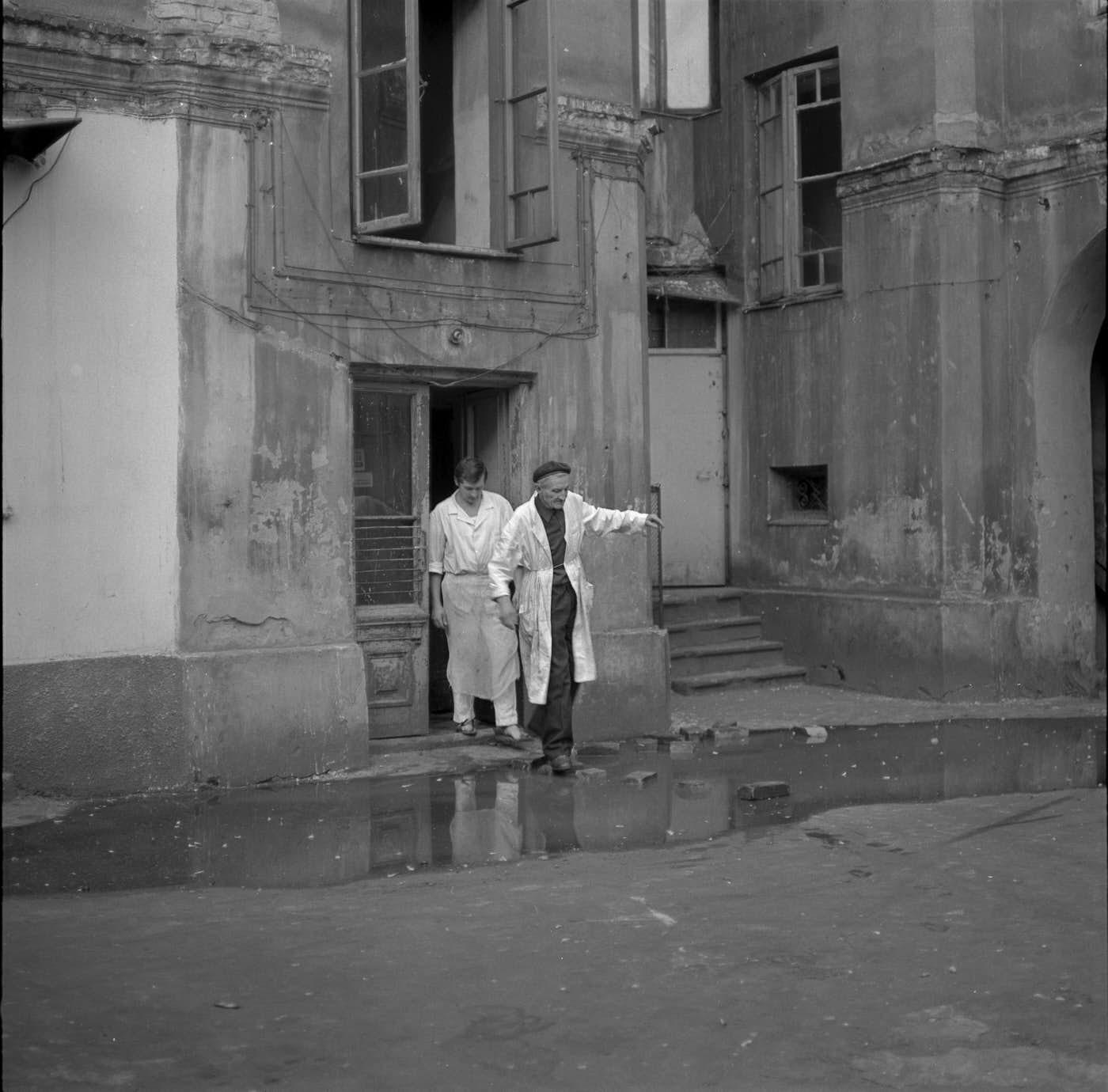 Warszawska Praga lat 70