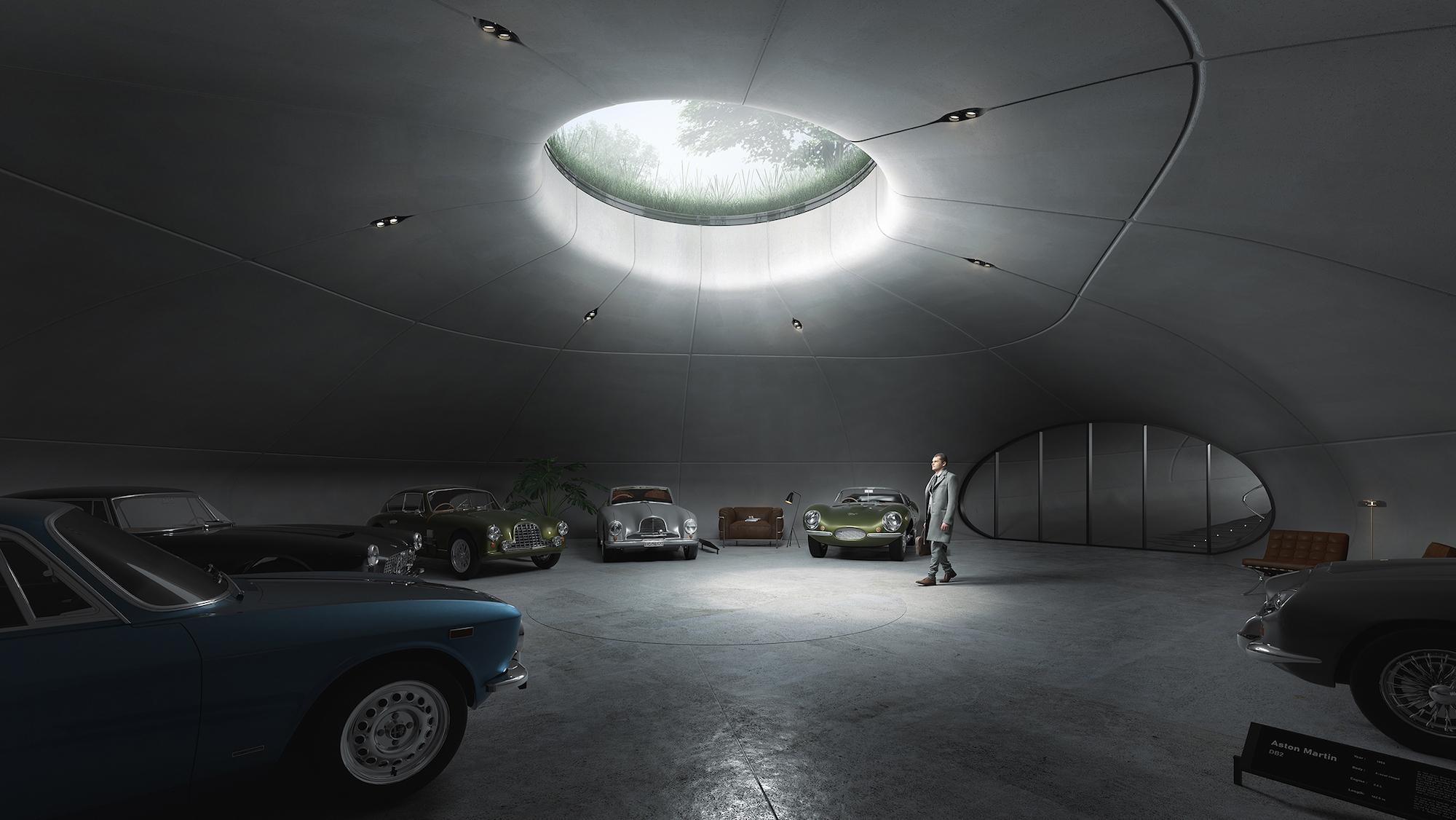 Prywatne muzeum zabytkowych aut