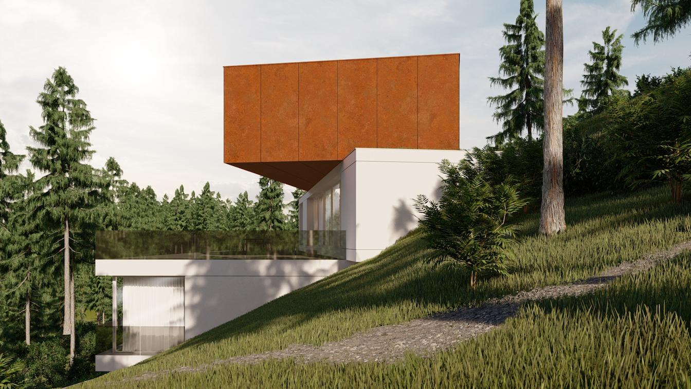 Corten House