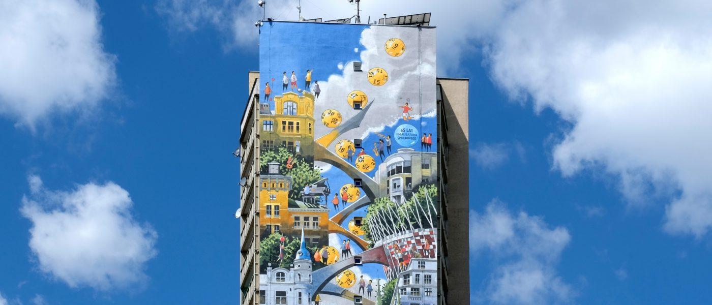 mural na pradze