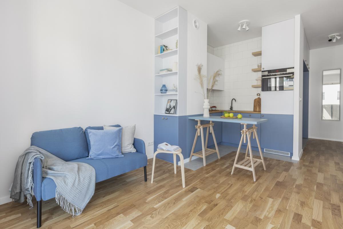 Mieszkanie na warszawskiej Nowej Pradze