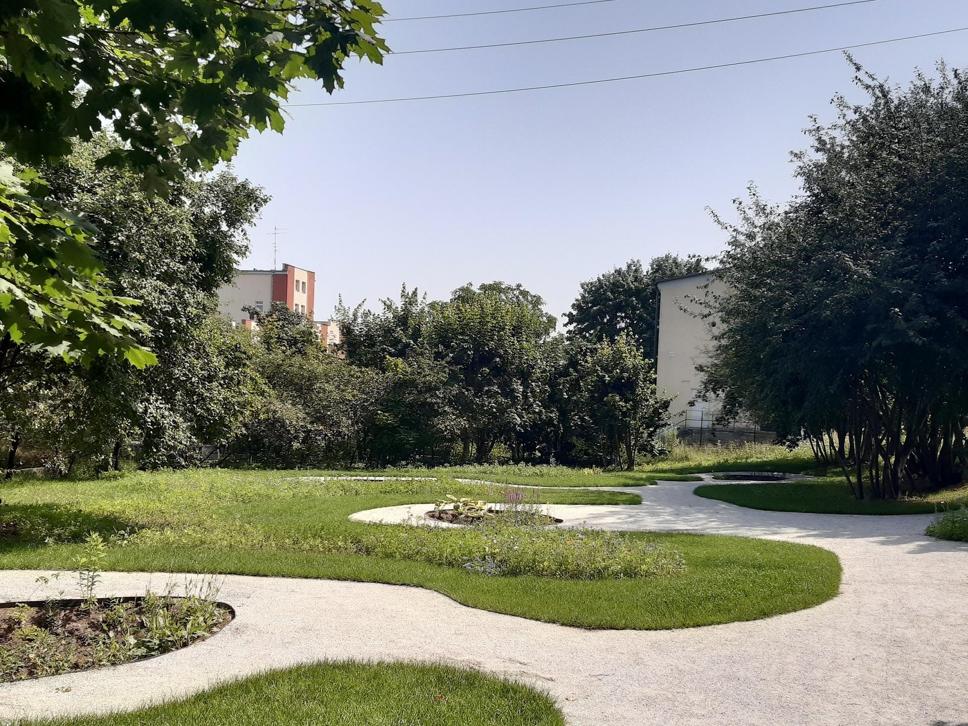 Nowy park kieszonkowy w Gdyni