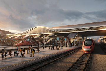 Dworzec w Wilnie