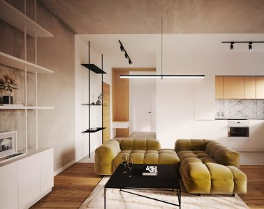 60-metrowe mieszkanie z ogródkiem