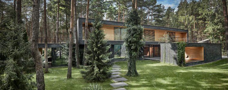 dom leśny